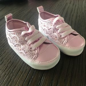 Other - Pink baby sneakers